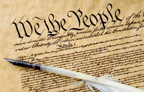 Constitution preamble: We The People