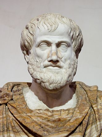 bust of Aristotle by Lysippos