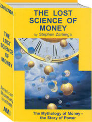 book cover, The Lost Science of Money