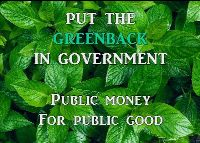 Put the Greenback back in government